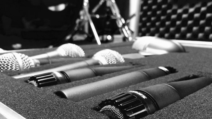overhead drum mics